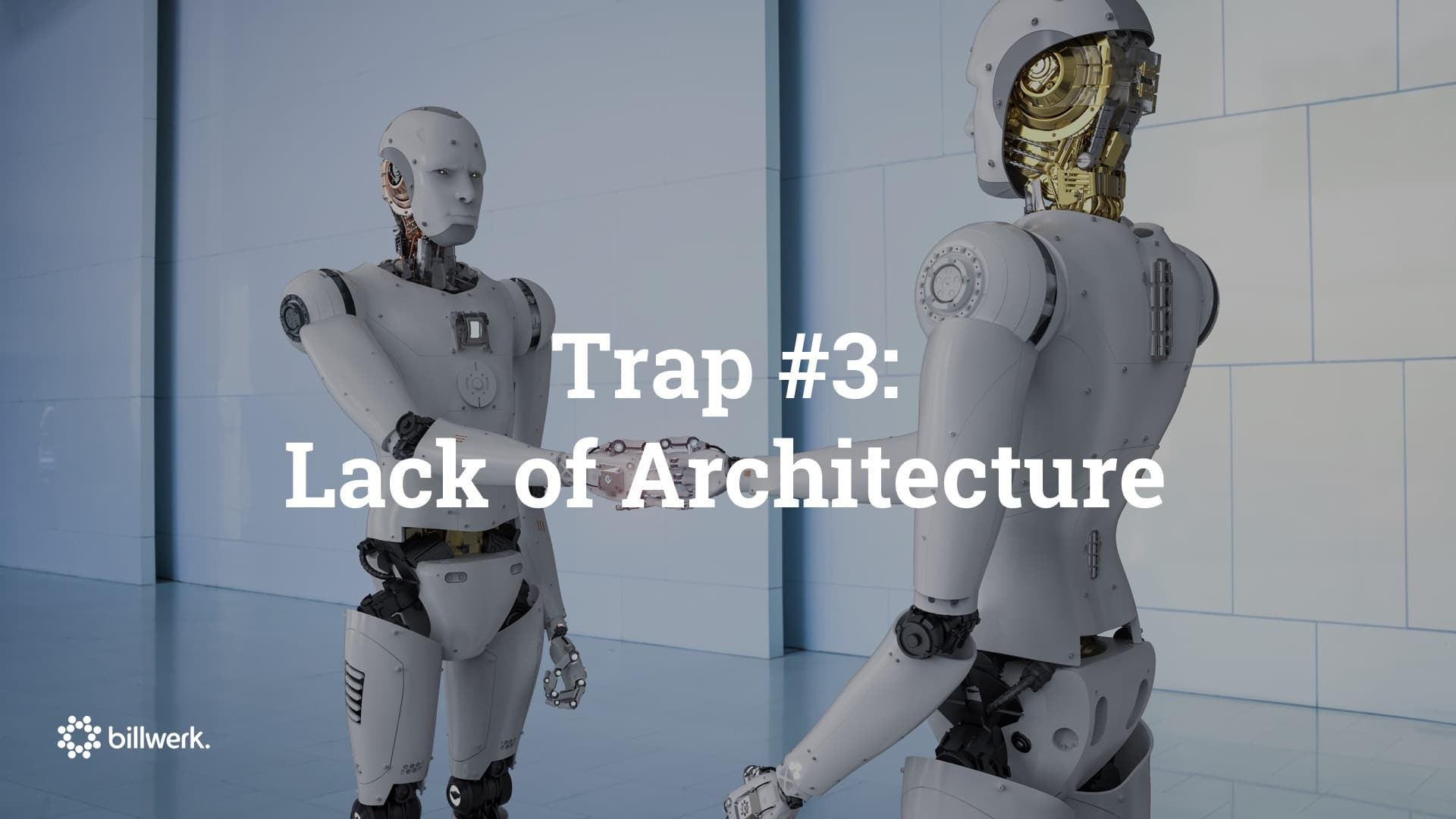 Saastock Keynote von Dr. Ricco Deutscher | Trap #3 Lack of Architecture