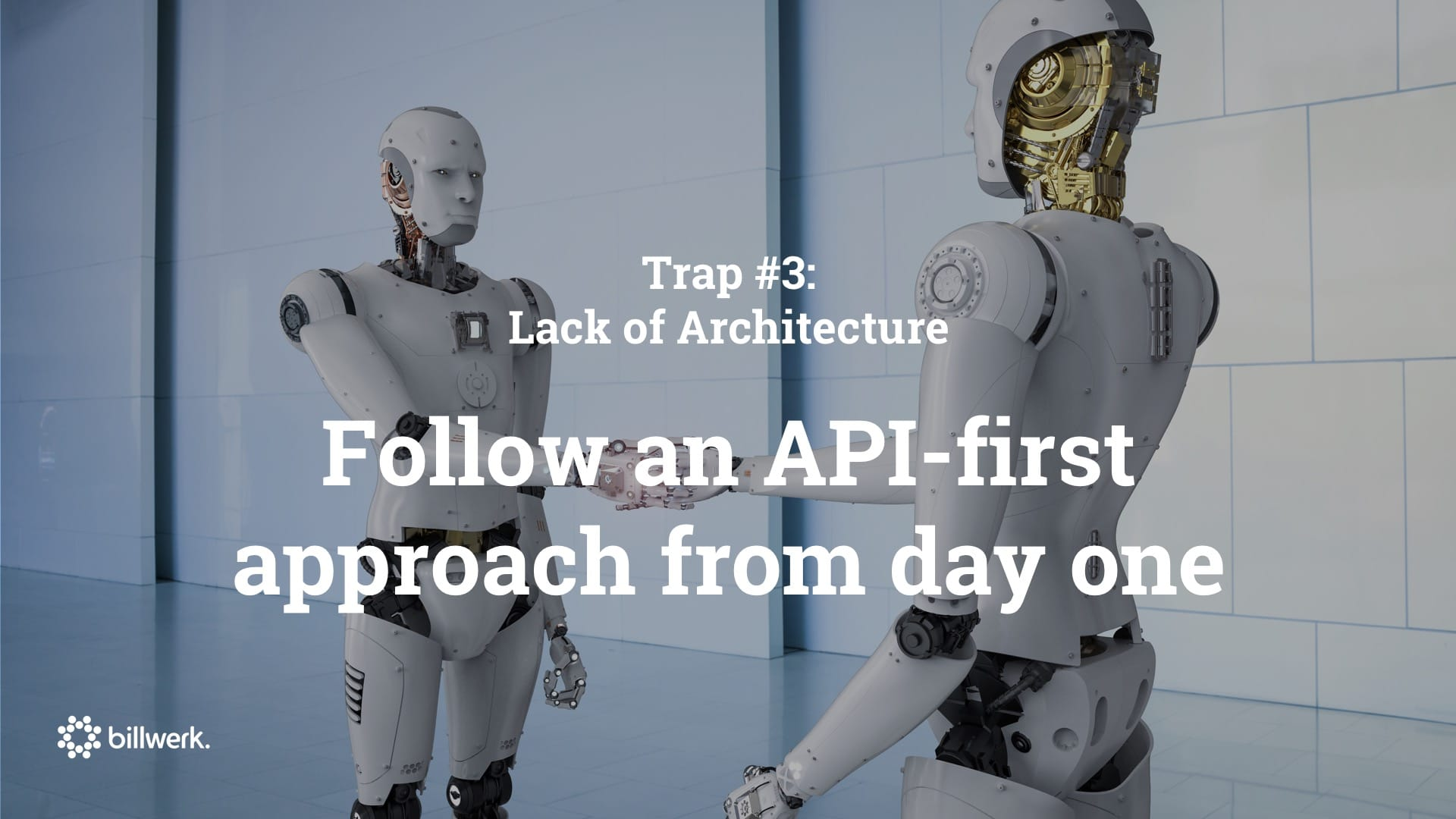 Keynote Saastock | CEO Dr. Ricco Deutscher | Trap #1 Lack of Architecture