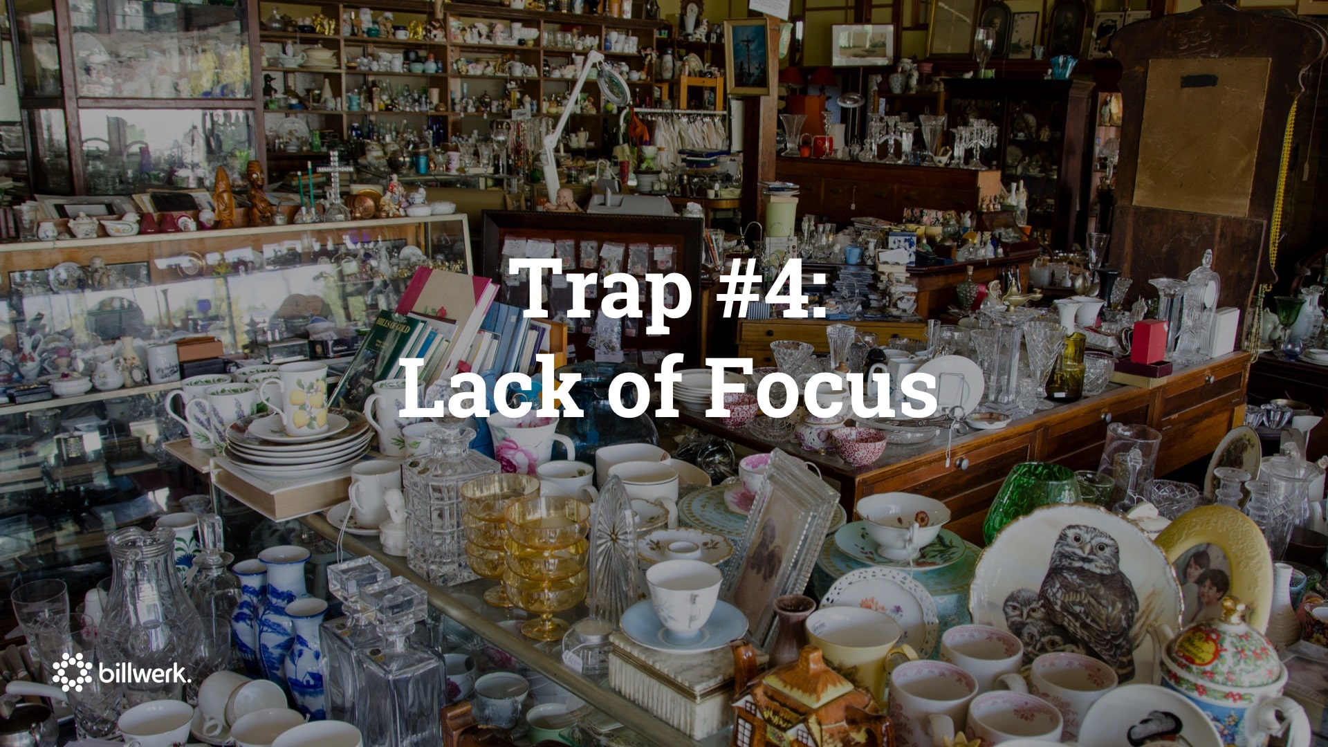 Keynote Saastock | CEO Dr. Ricco Deutscher | Trap #4 Lack of Focus