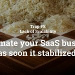Keynote Saastock | CEO Dr. Ricco Deutscher | Fehlende Skalierbarkeit | Automate your SaaS Business as soon it stabilized