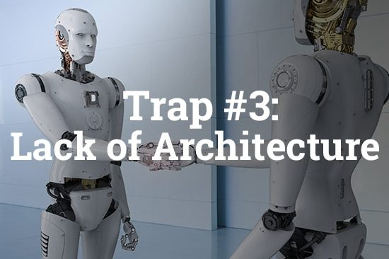 5 Traps you should avoid building a SaaS | business Trap #3 | Lack of Architecture | billwerk GmbH