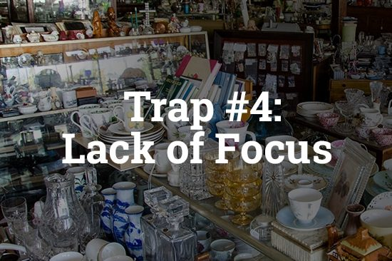 5 Traps you should avoid building a SaaS | business Trap #4 | Lack of Focus | billwerk GmbH