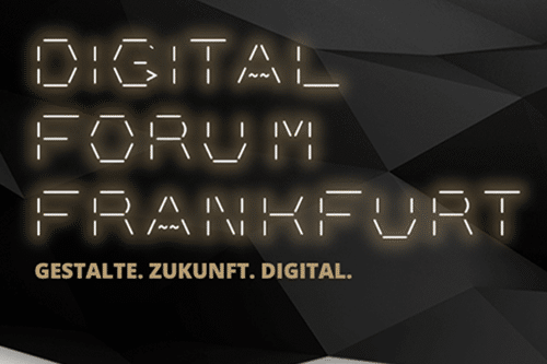 Digital Forum Frankfurt 2019 | Keynote Dr. Ricco Deutscher