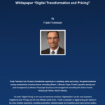 Cover Whitepaper |Digital Transformation and Pricing |Frank Frohmann