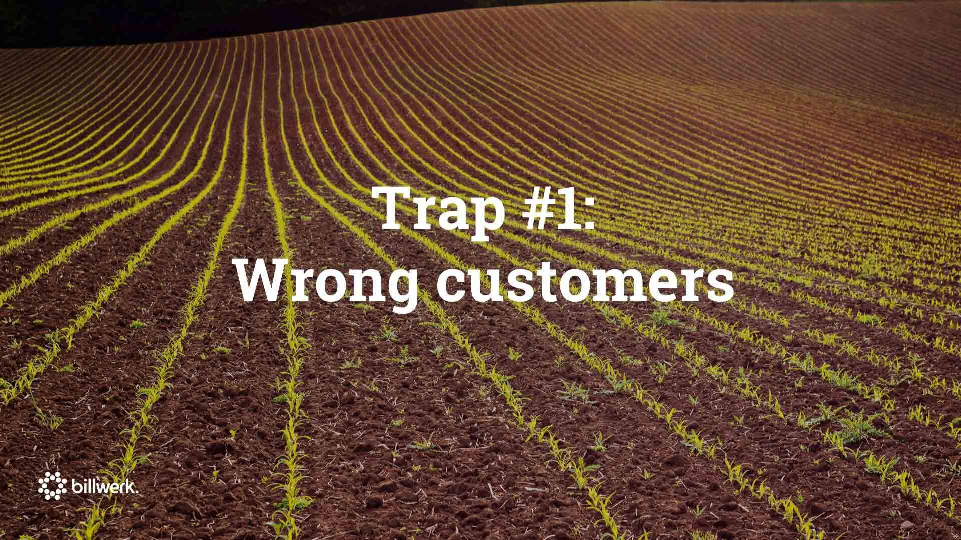 Saastock Keynote von Dr. Ricco Deutscher | Trap #1 Wrong customers